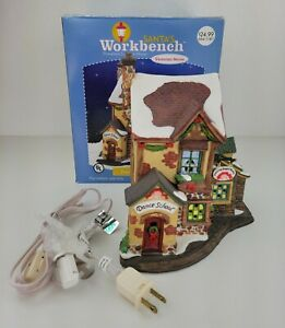 Santa's Workbench Dancing Sugar Plums Dance Studio Lighted Christmas House