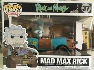 Rick and Morty Funko Pop Rides Mad Max Rick Vinyl Figure