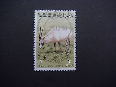 2019 Nieuwe Stijl Sultanate Of Oman 1982 Sg 270 1r Arabian Oryx Used Cat £26.00 Matige Prijs