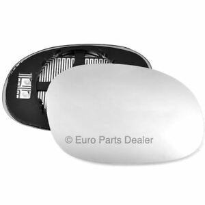 Peugeot 207 Hatchback 2006-2013 Non-Heated Convex Mirror Glass Drivers Side