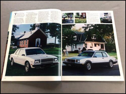 1983 Buick 76-page Car Sales Brochure Catalog Riviera convertible Electra Regal