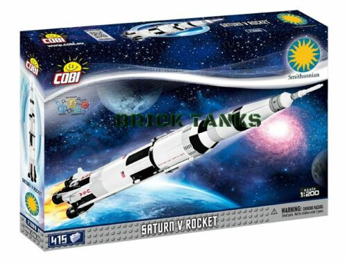 Smithsonian COBI 21080-415 brick spacecraft Saturn V Rocket