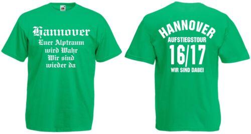 Hannover Aufstiegs-Tour T-Shirt von S-XXXL Austeiger 2016//17