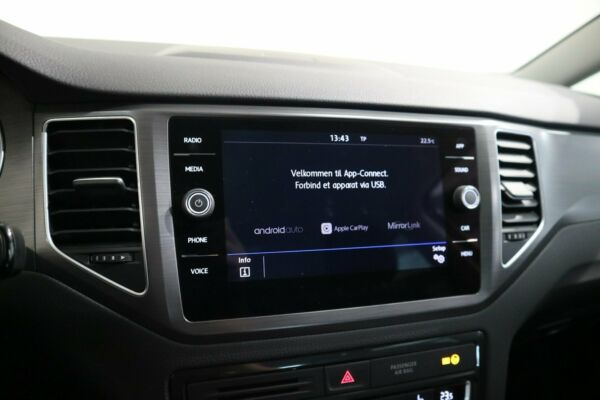 VW Golf Sportsvan 1,6 TDi 115 Comfortline DSG billede 9
