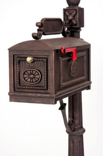 Contemporain bronze fonte d/'aluminium boîte aux lettres par une meilleure Boîte Boîtes aux lettres-BBC-R