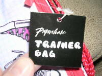 Paperchase Trainer Bags/ Backpacks White/red With Sneaker Designs (boys)