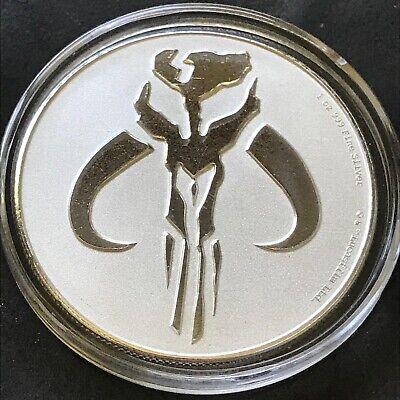 Power Coin Mandalorian Mythosaur Star Wars 1 Oz Silber M/ünze 2$ Niue 2020