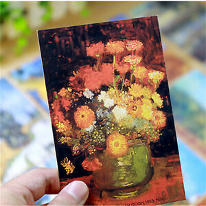 30-Set-Travel-Postcard-Van-Gogh-Famous-Painting-Photo-Picture-Poster-Post-Cards