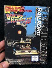 BACK TO THE FUTURE PART III DELOREAN  1/43 MODEL KIT AOSHIMA JAPAN