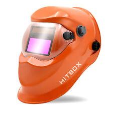 True Color Extra Large View Pro Solar Welding Helmet Auto Darkening Welder Mask