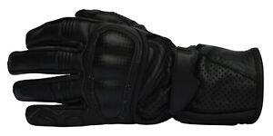 Roleff-Motorradhanschuhe-Lederhandschuhe-schwarz-Gr-S-3XL