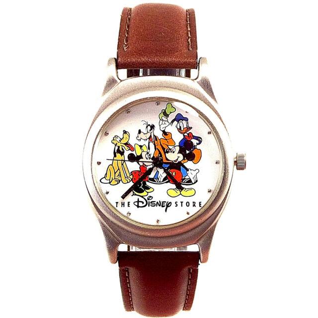 Mickey Disney Fossil, 'Cast Of Disney Store,' Rare New Limited Edition Watch $80