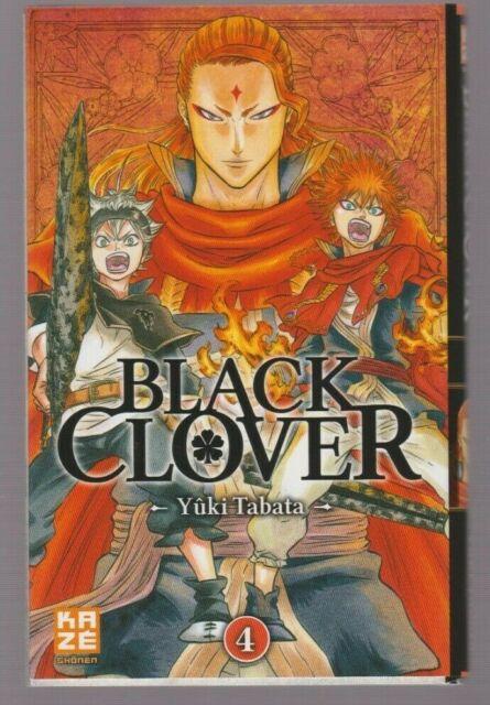 BLACK CLOVER tome 4 Yuki Tabata Manga en français shonen