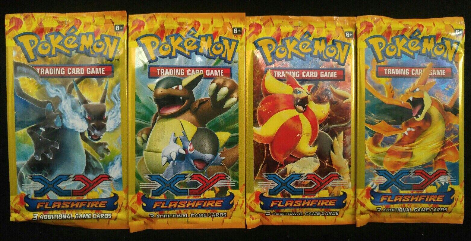 Pokemon XY Flashfire NuevoSellado de 3 Mini-Card Booster Pack   Paquetes caliente