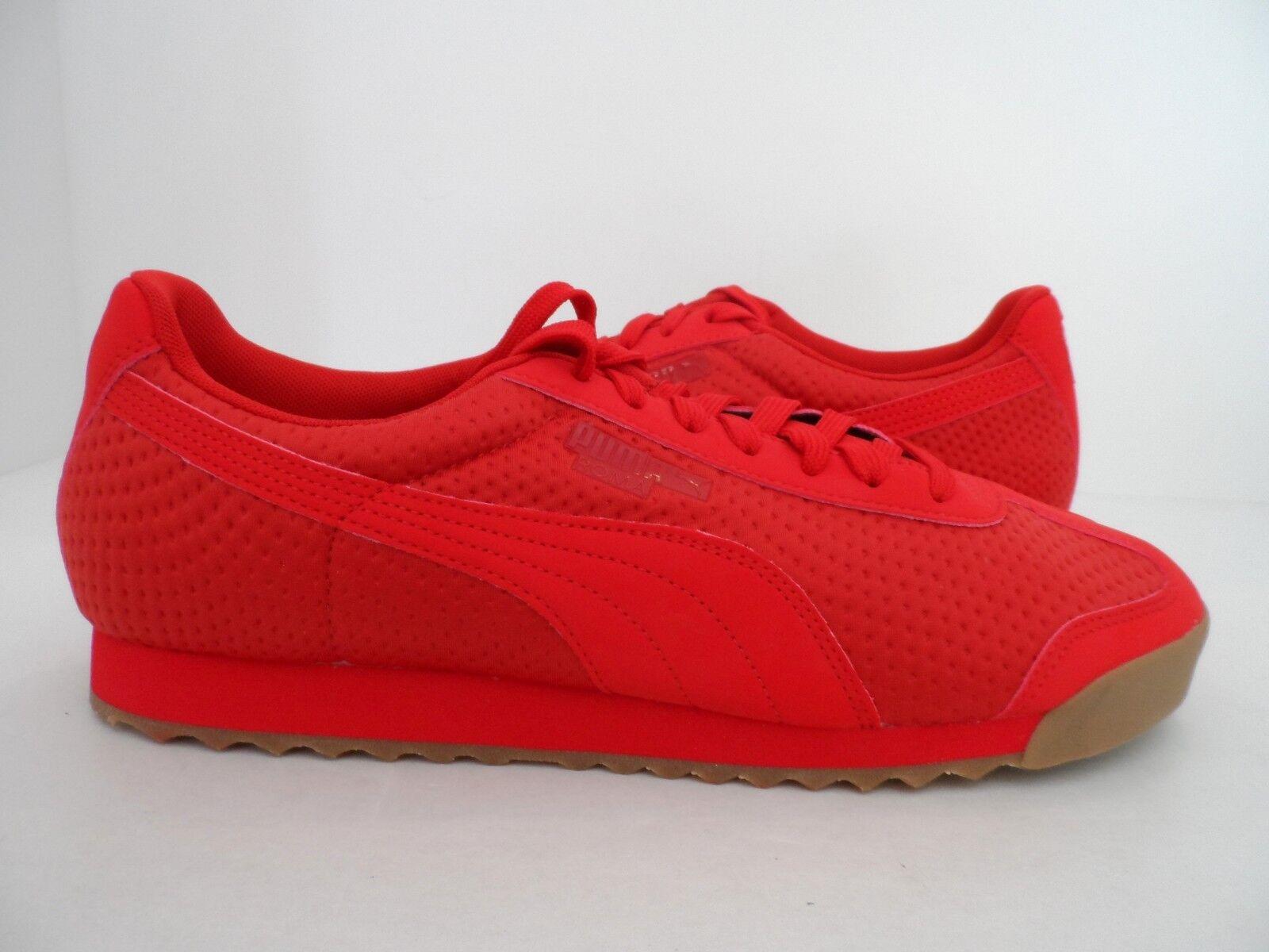 Puma Uomo rom di triemboss scarpa di rom moda ad alto rischio red 8 a2fe9f