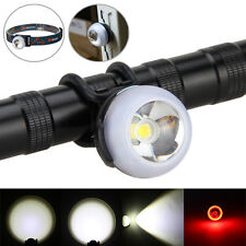 3in1 1000LM XM-L T6 Led bicycle rear light Luz de trabajo Luz Cabeza Headlight