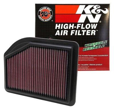 K/&N Drop-In High-Flow Air Filter 33-2477 Fits:HONDA 2012-2014 CR-V L4 2.4