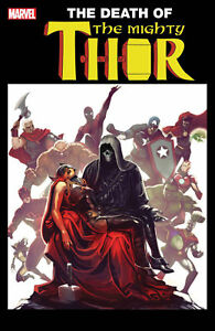 MIGHTY-THOR-700-LENTICULAR-VARIANT-DEATH-OF-CAPTAIN-MARVEL-NM-MARVEL