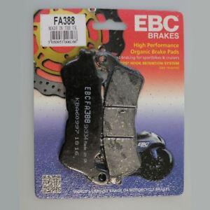 EBC-FA388-FRONT-REAR-BRAKE-DISC-PAD-PADS-HONDA-CBF-1000-ABS-2006-2010