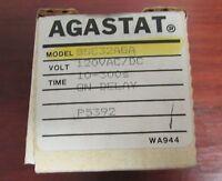 Agastat Tyco On Delay Timer Relay 120v Ac Dc 10-300 Sec Ssc32aga