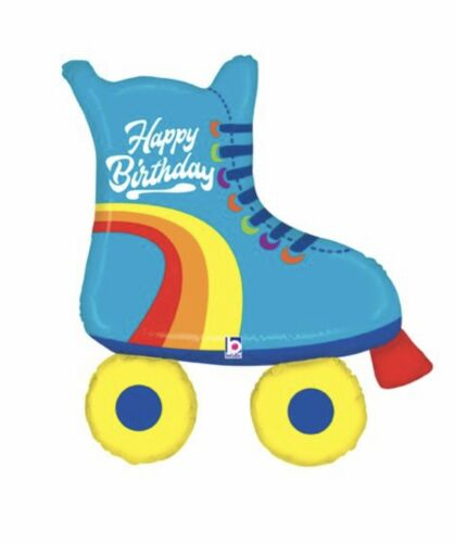 """Roller Skate 39"""" Balloon Birthday Party Decorations Supplies"""