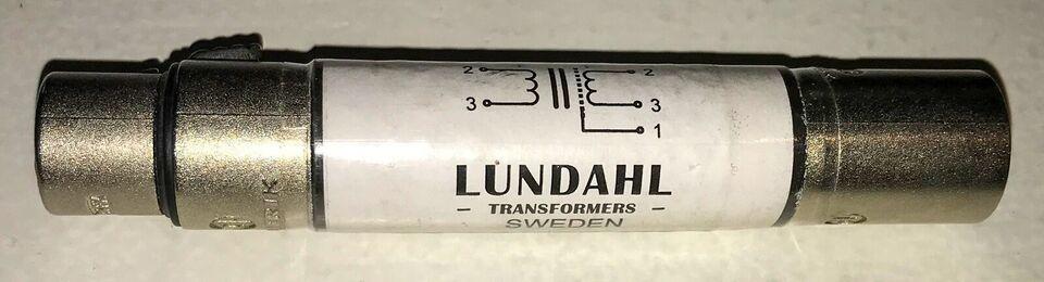Line Isolation Transformer, Lundahl LL156X-3FX3MX