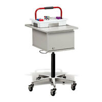 Clinton Phlebotomy Cart Two-tray 1 Ea