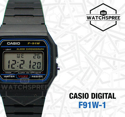 Casio Digital Watch F91W-1D F-91W-1