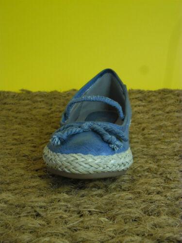 Indigo Mädchen Ballerina 422183 Jeans Blau zum Knallerpreis