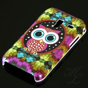 Samsung-Galaxy-Ace-Plus-S7500-Hard-Handy-Case-Hulle-Cover-Etui-grose-Eule-Owl