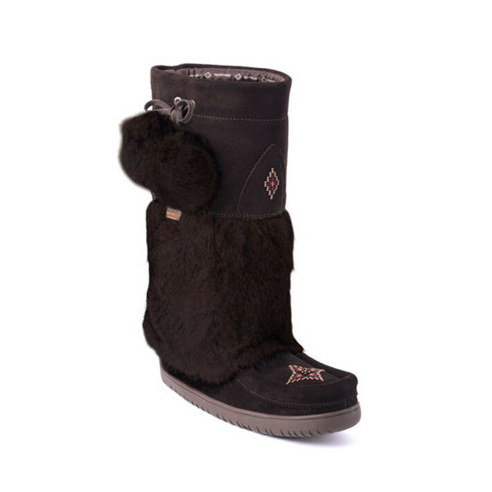 Manitobah Mukluks Snowy Owl Vibram Sole Women's Winter Boots