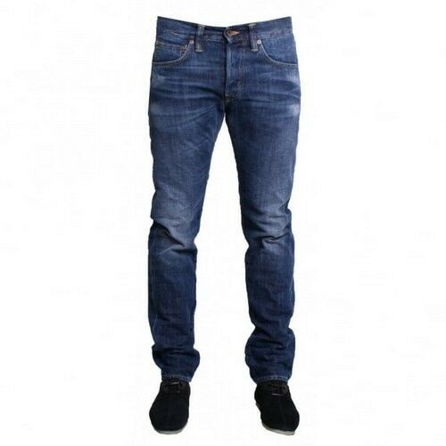 VAQUEROS EDWIN HOMBRE ED 55 RELAXED TAPERED dark blue -brisa usado W32 L34