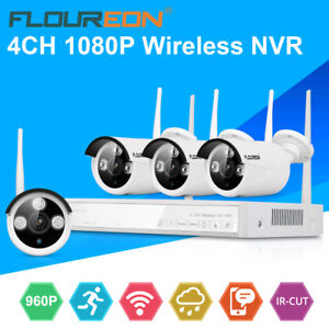 4ch 1080p cctv wireless dvr outdoor ir cut 960p wifi ip