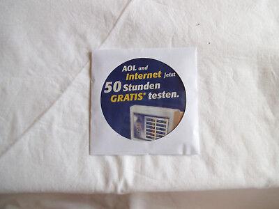 Besorgt Cd-rom: Aol Und Internet Jetzt 50 Stunden Gratis Testen. Mit Multimedia-show