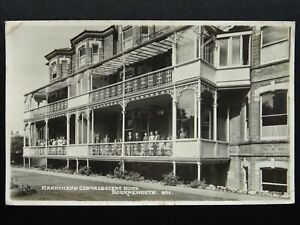 BOURNEMOUTH-Hahnemann-Convalescent-Home-c1950s-RP-Postcard-by-Dearden-amp-Wade