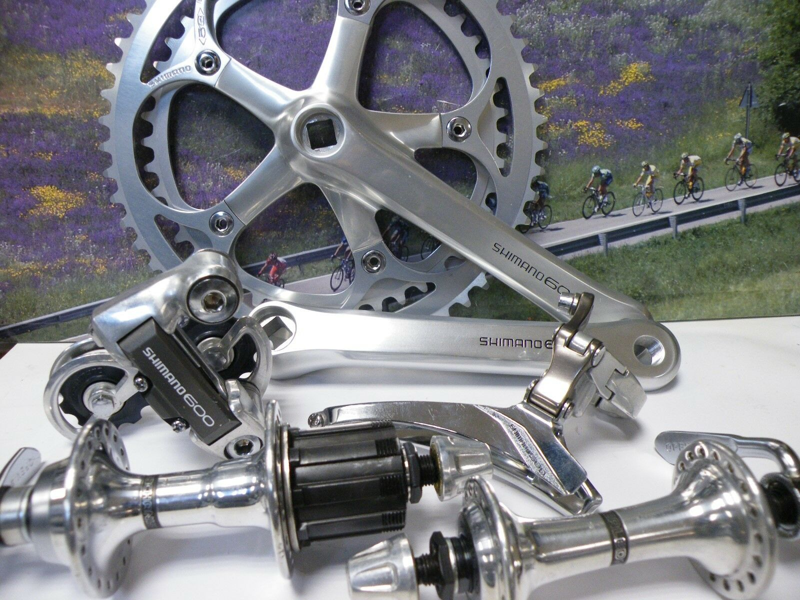 Shimano New 600 6207 partial groupset