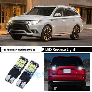 Details about Bright White 921 906 Reverse Backup LED Lights Bulbs For  Mitsubishi Outlander