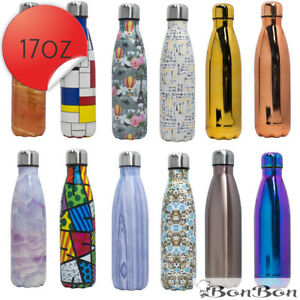 BonBon-17-Oz-500-ml-Vacuum-Insulated-Double-Walled-Water-Bottle-12-NEW-STYLES