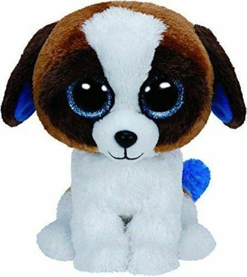 Ty Beanie Boo Boos Duke The Saint Bernard Dog 6 Plush 2015 May 20th For Sale Online Ebay