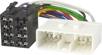 ISO Arnés De Cableado Conector Adaptador Telar Plomo de Radio Estéreo Para Ssangyong KYRON