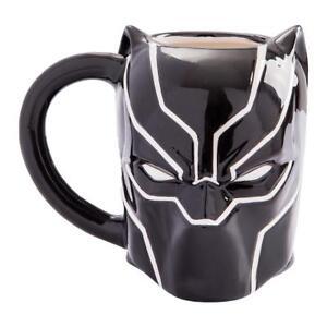 Marvel 26101 20 Ceramic Mug Avengers Black Panther OzSculpted GSMVUqzp
