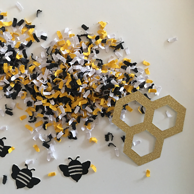 Bumble Bee Party Birthday Decoration Confetti