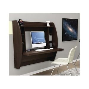 floating desk wall mounted office furniture computer