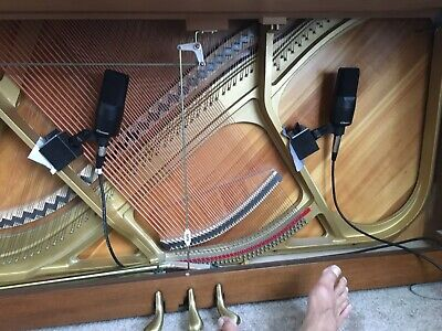 microphones sold separately 1 mag Mic-Mag Upright Piano Micing system