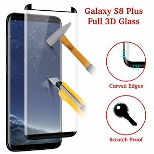 100-Genuine-Tempered-Verre-LCD-film-de-protection-ecran-pour-Samsung-Galaxy-S8-Plus