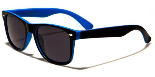 Polarized Lens Mens // Womens Two Tone Frame Retro Polarised Sunglasses