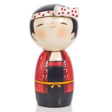 Lucky Girl Cute Wooden Kokeshi Doll