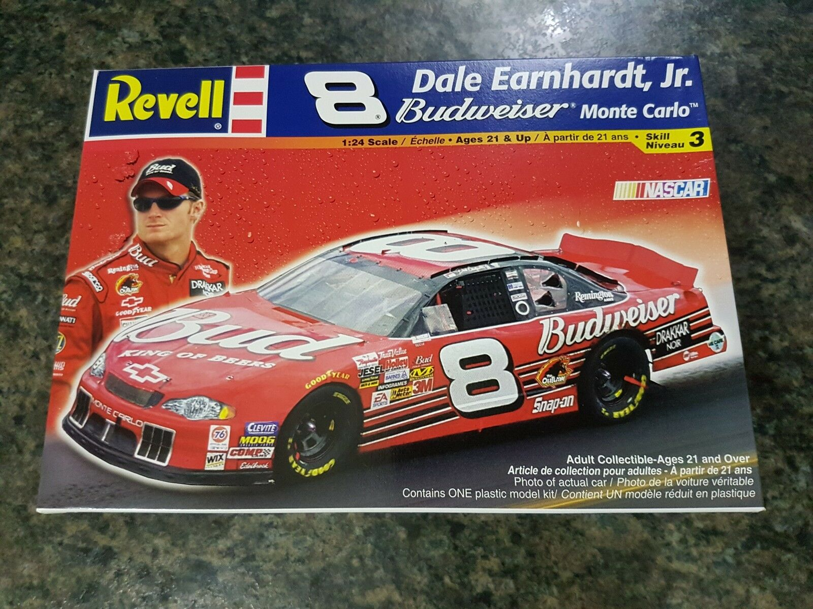 Revell 1 24 Dale Earnhardt Jr Budweiser Monte Carlo Nascar Great Condition Rare