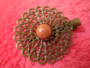 Barrette Baroque Arabesque French Manufacture French Design Hair Clip New Ebay