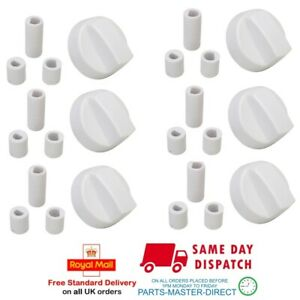 four et plaque de cuisson bouton de commande trente adaptateurs Six universel blancs pour cuisinière